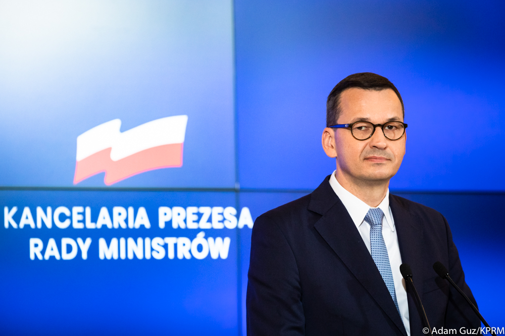 WI Daily News – Mateusz Morawiecki to discuss situation in Belarus with all parliamentary caucuses representatives