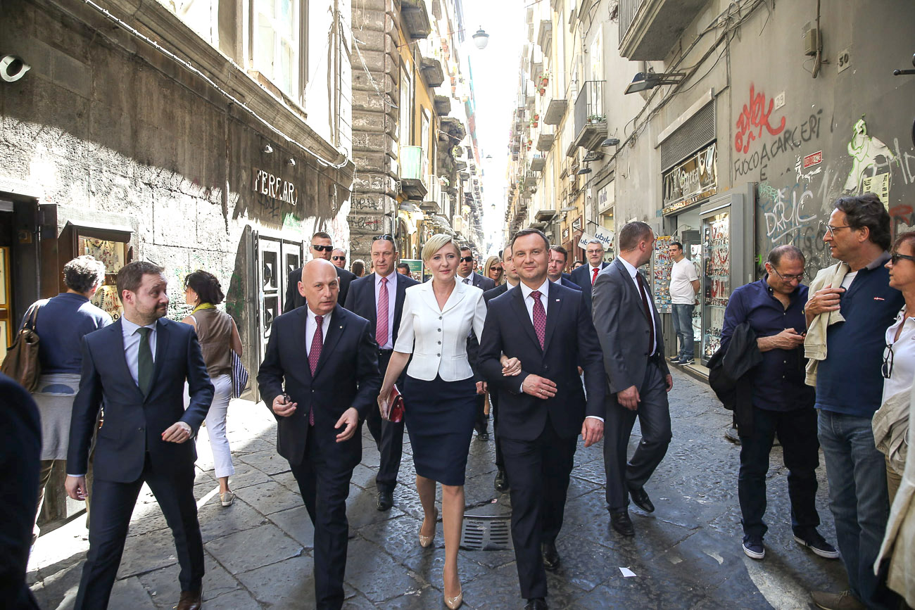 WI Daily News – President of Poland arrives in Italy