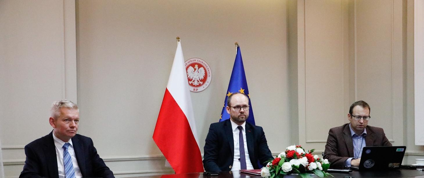 WI Daily News – Deputy FM Marcin Przydacz on abduction of Belarusian oppositionist Maria Kolesnikova