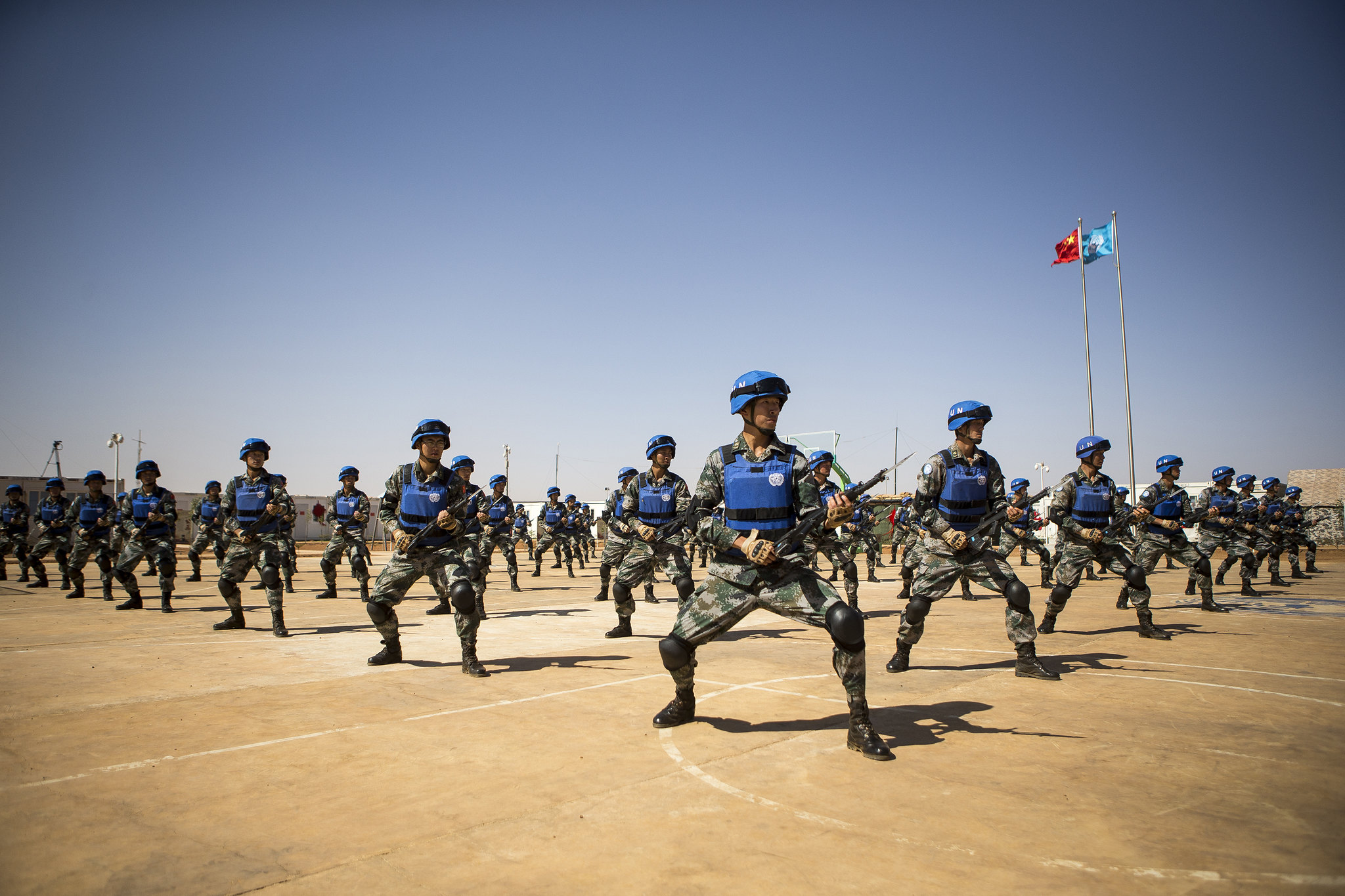 China's participation in UN peacekeeping missions