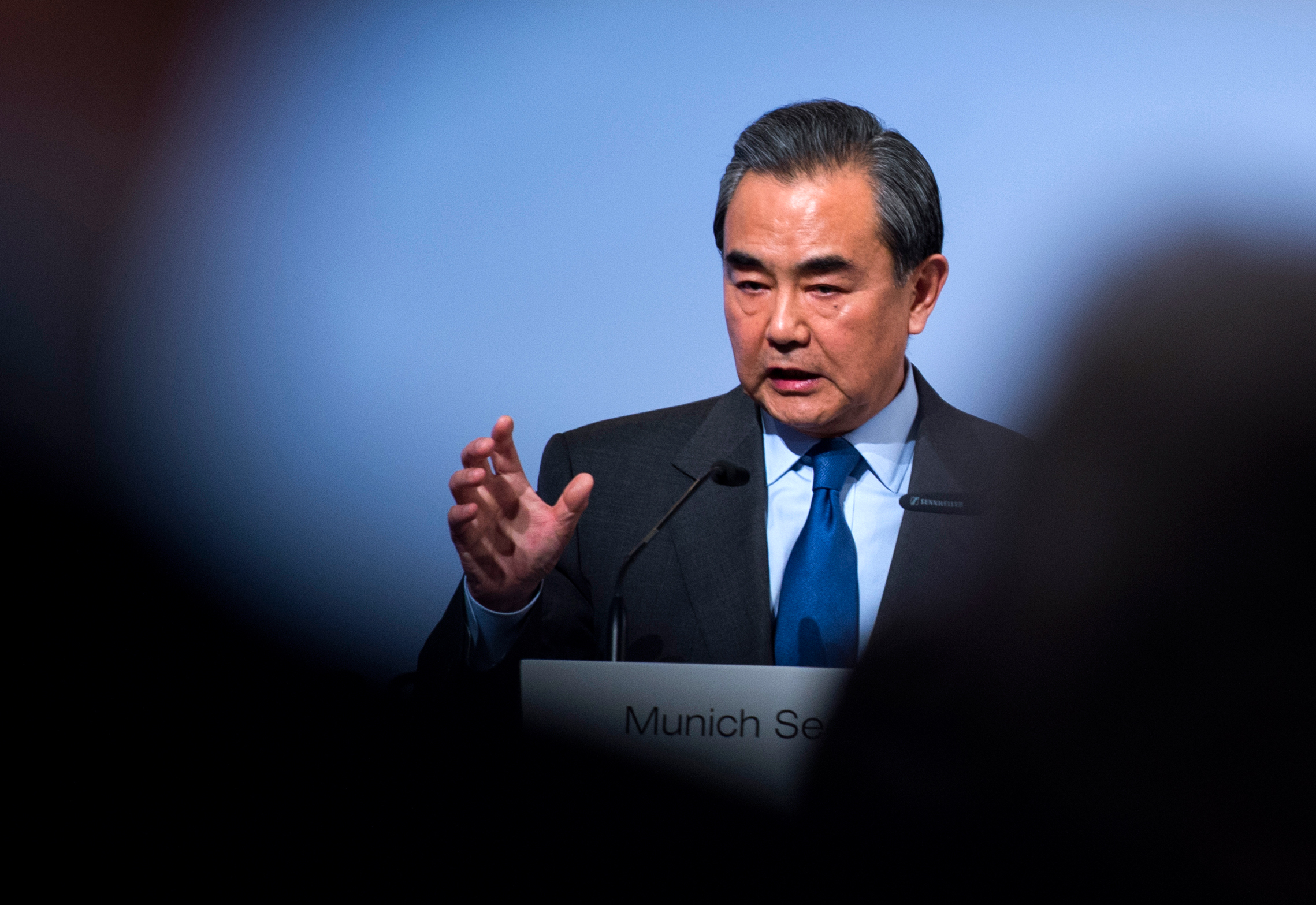 Wang Yi at the Lanting Forum