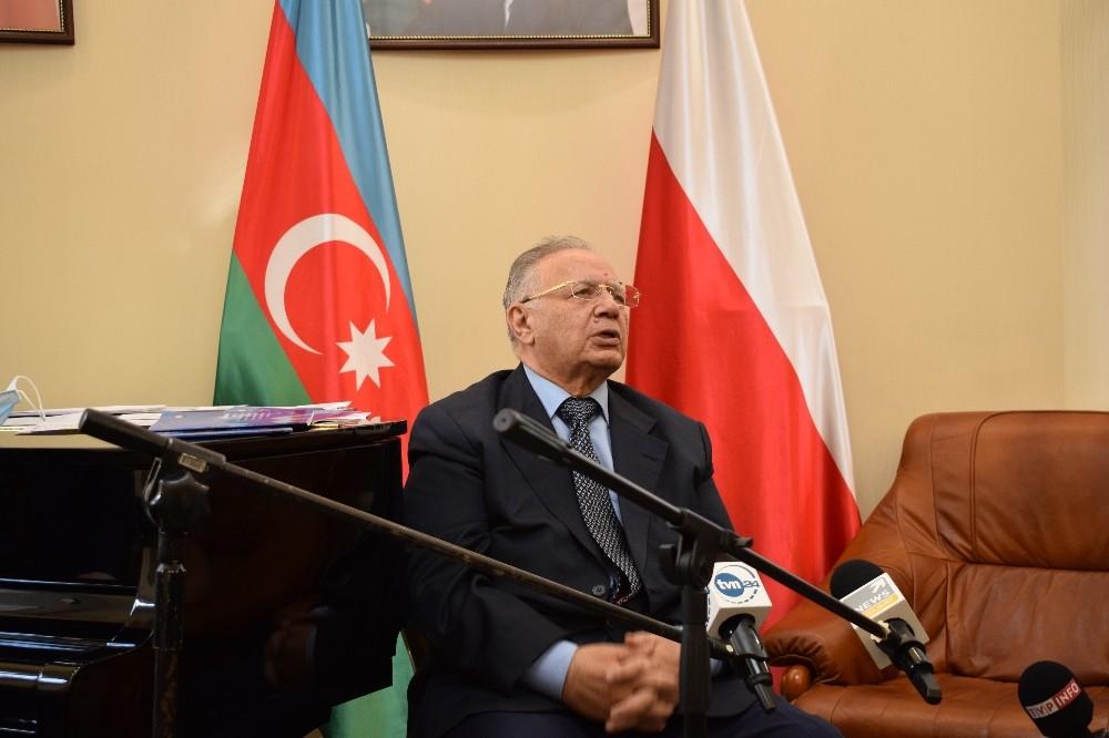 Spotkanie w Ambasadzie Azerbejdżanu