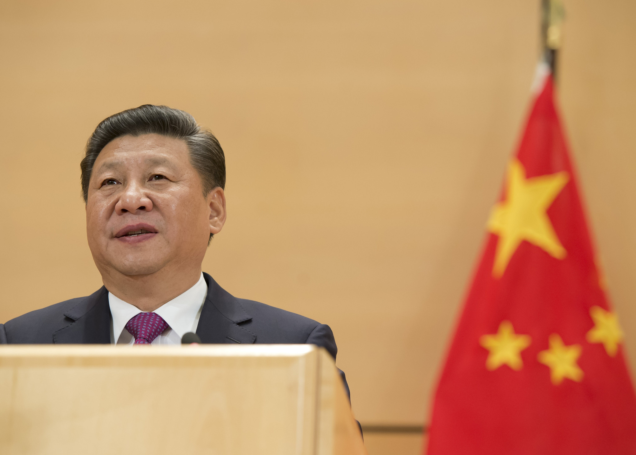 Xi Jinping at the Paris Peace Forum