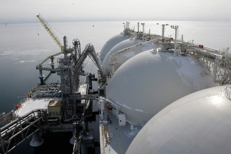 Russia Produces More Liquefied Natural Gas
