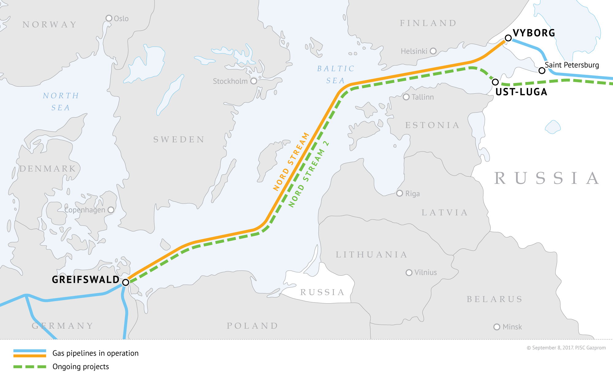 Nord Stream 2 Pipeline Sees Last-Minute Sanctions