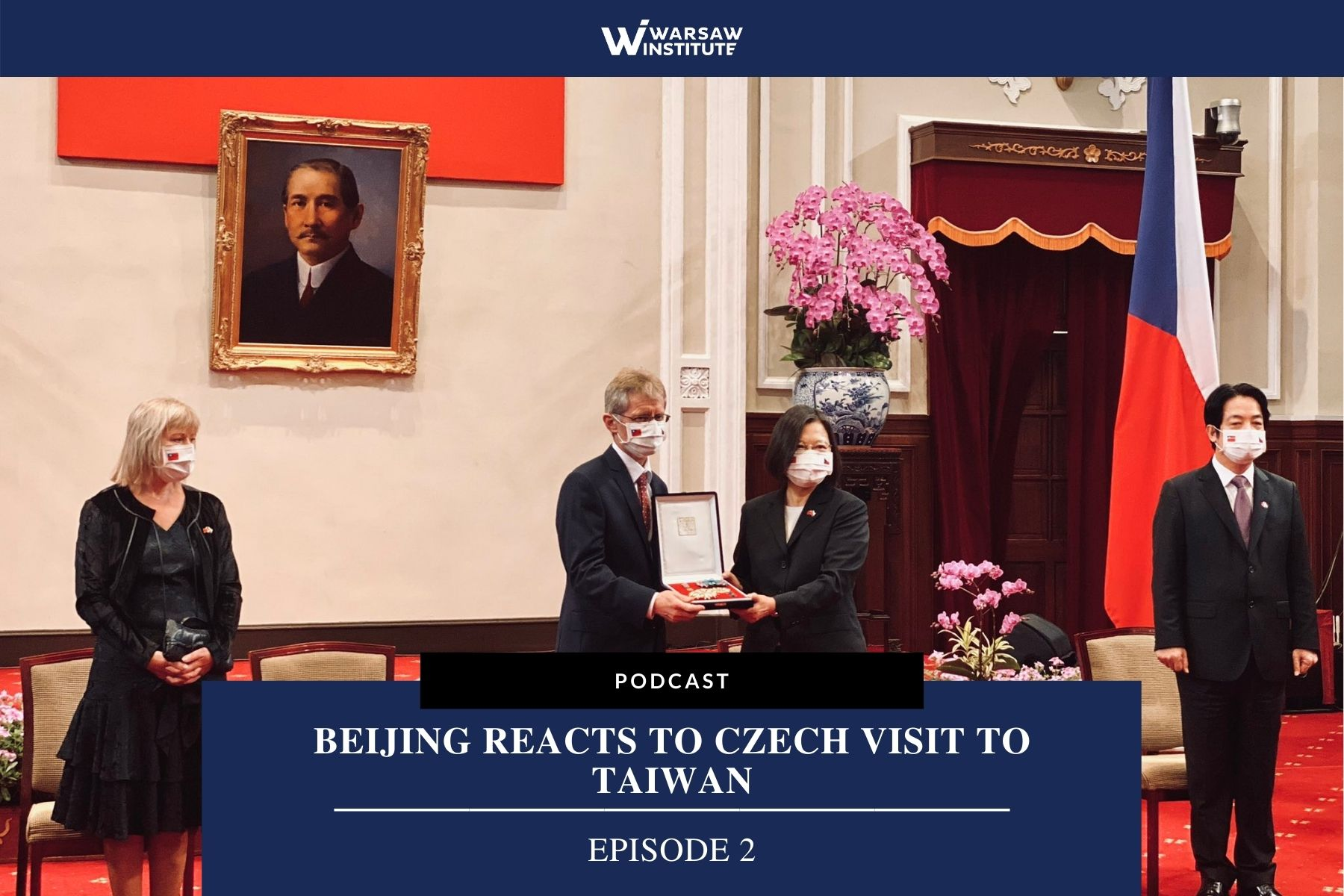 Beijing Reacts to Czech Visit to Taiwan – Podcast