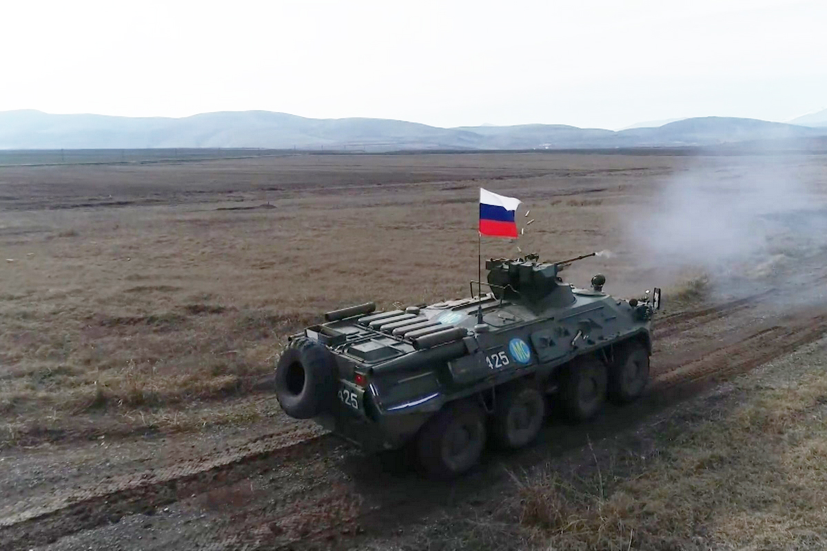 Armenia Invites More Russian Troops to Its Territory