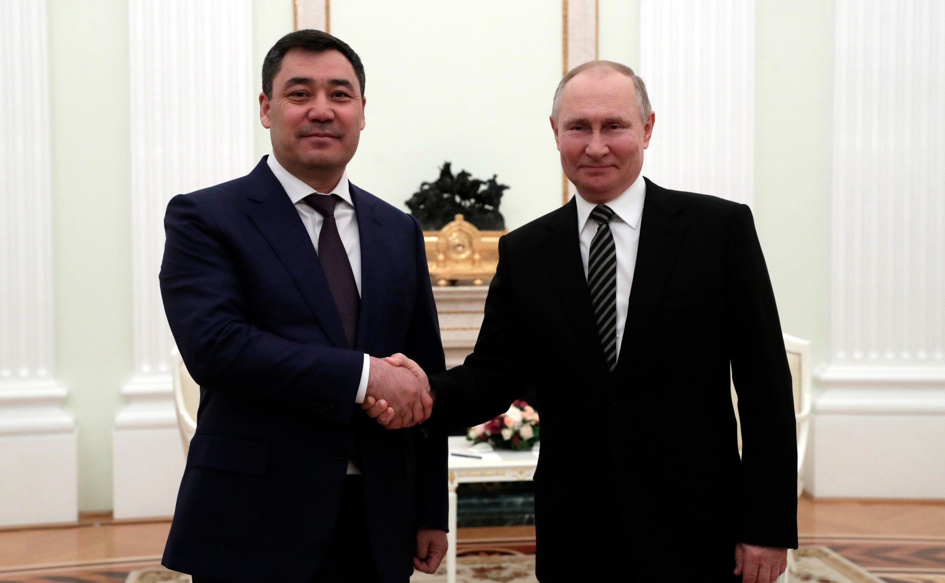 """Strategic Partnership:"" New Kyrgyz President Visits Russia"