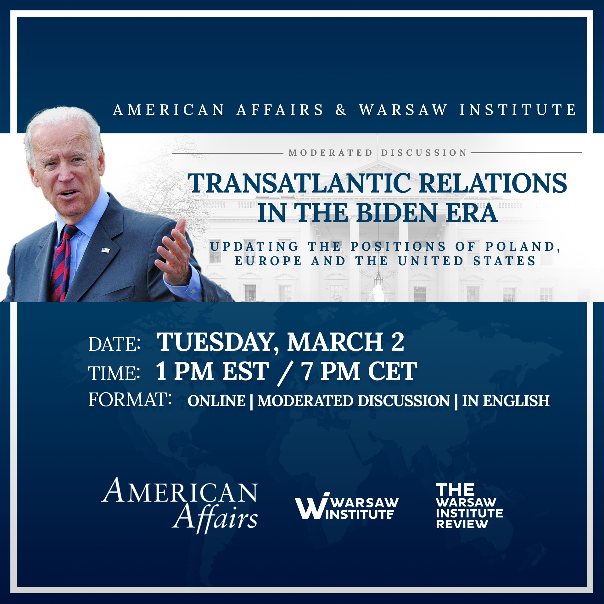Transatlantic Relations in the Biden Era