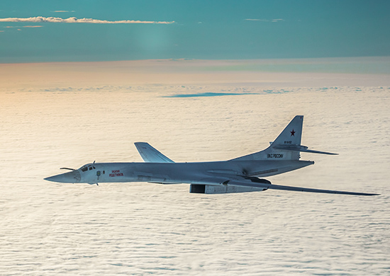 U.S and Russian Bombers In Tug-of-war Over Arctic