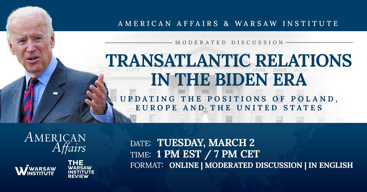 Transatlantic Relations in the Biden Era