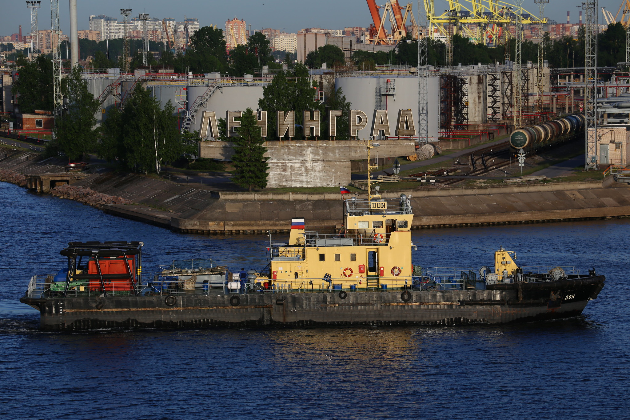 Belarus Begins Shipping Fuels Through Russian Ports