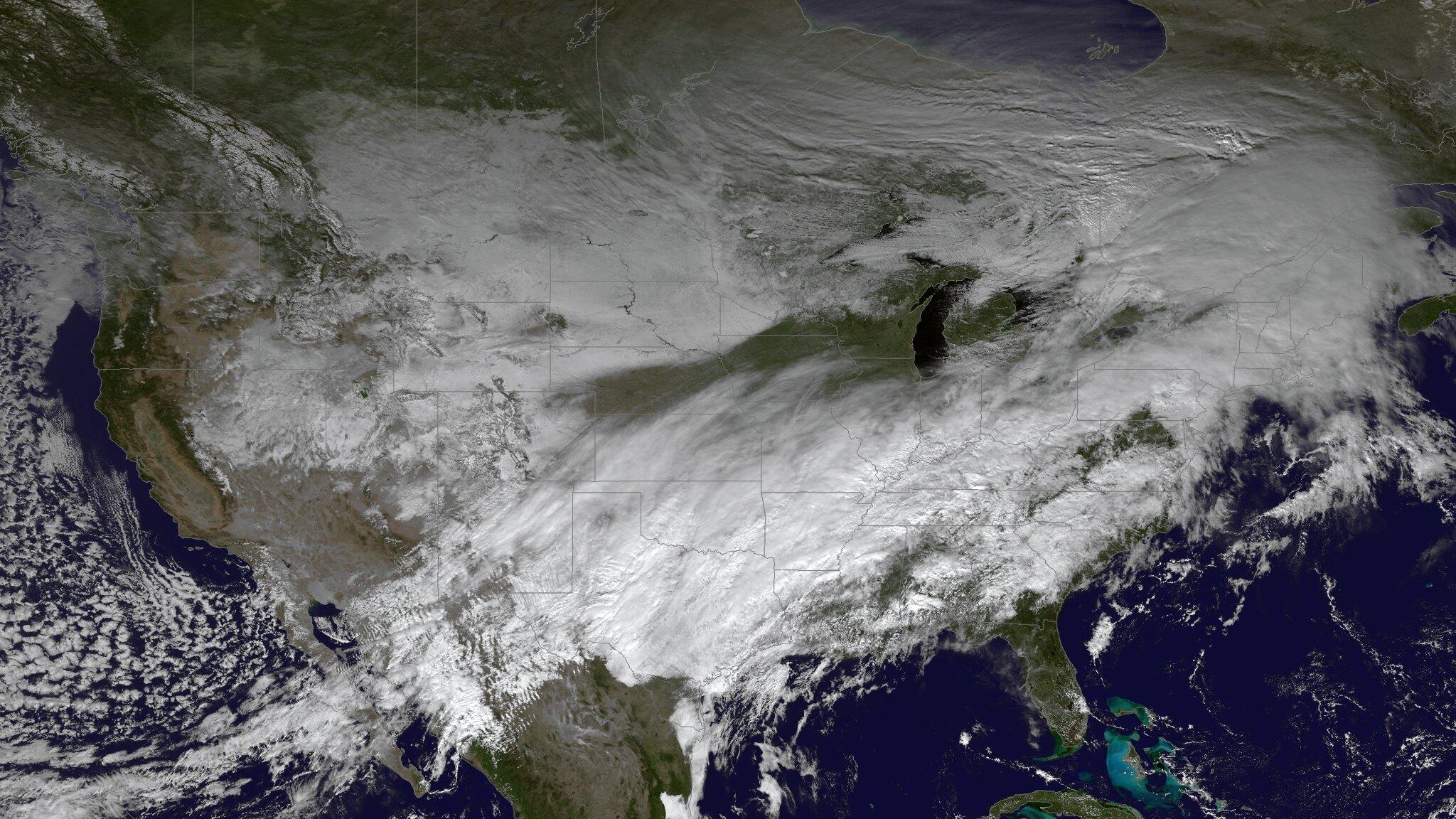 Atak zimy w Teksasie a zielona energia