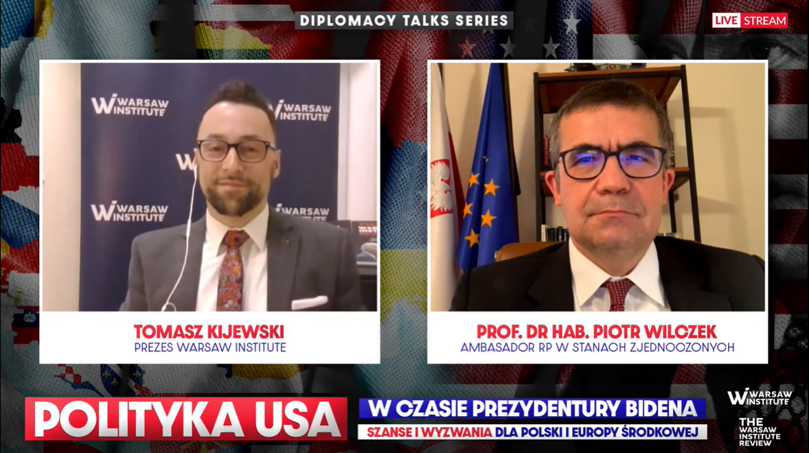 The Three Seas Initiative, China, Russia, Nord Stream 2, NATO and the EU – interview with the Polish Ambassador to the United States.