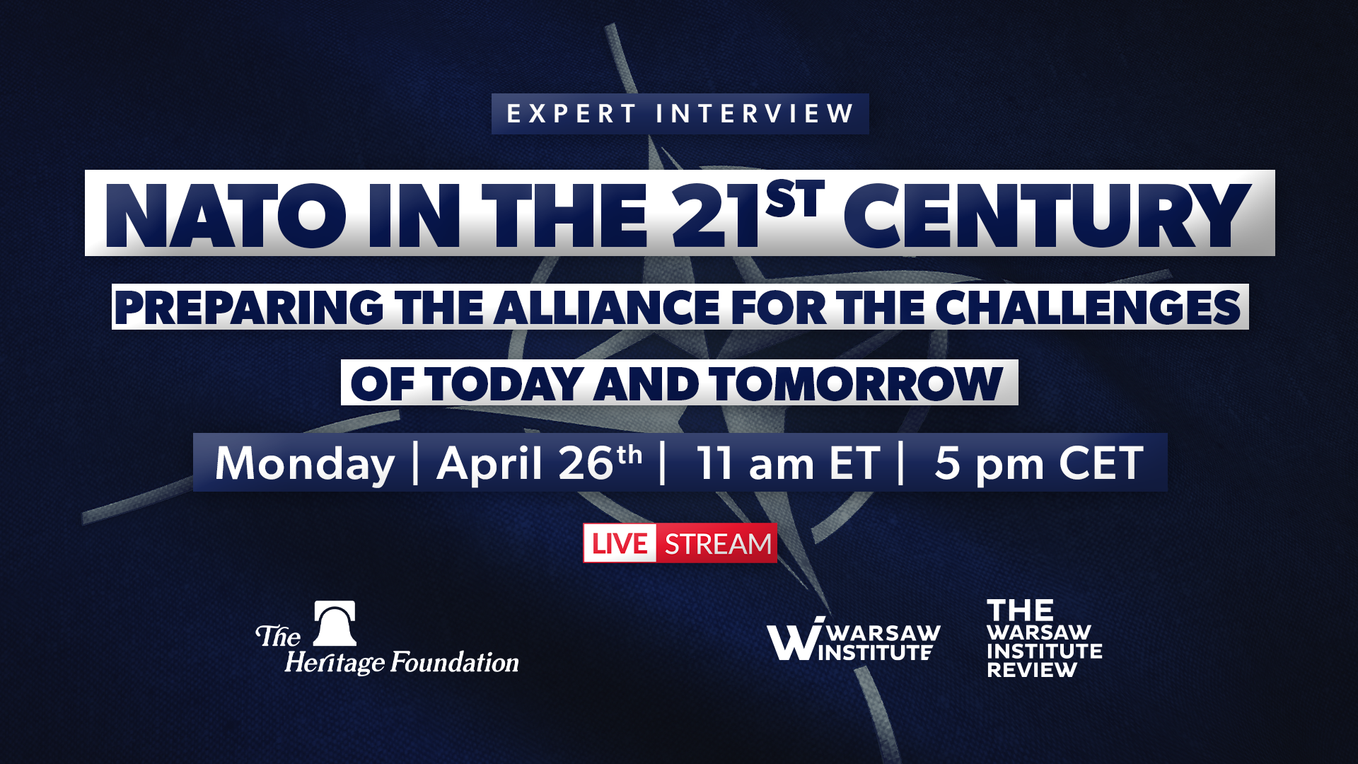 NATO in the 21st Century: Preparing the Alliance for the Challenges of Today and Tomorrow
