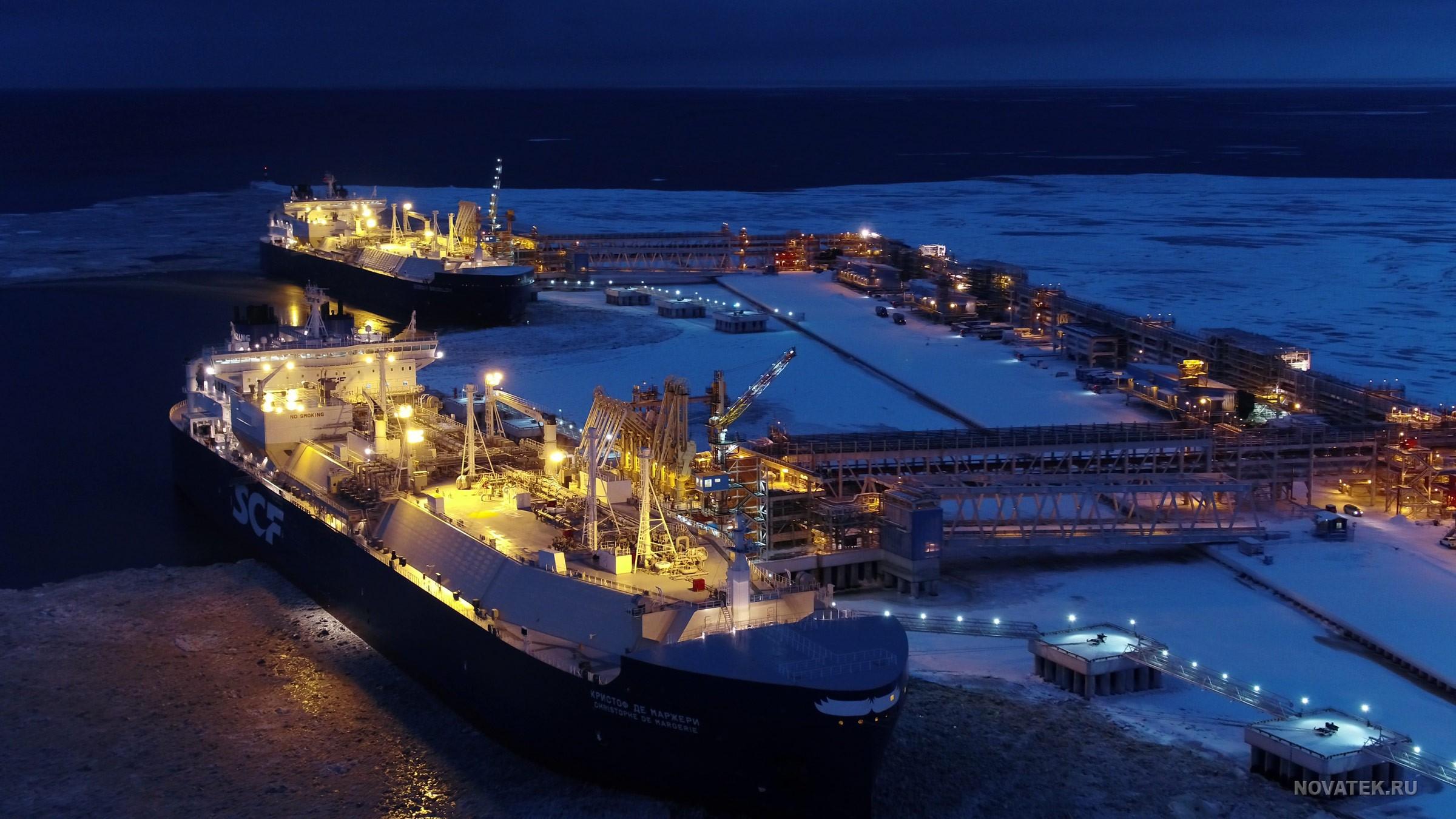 Russia's Novatek Sends Less Liquefied Natural Gas Abroad