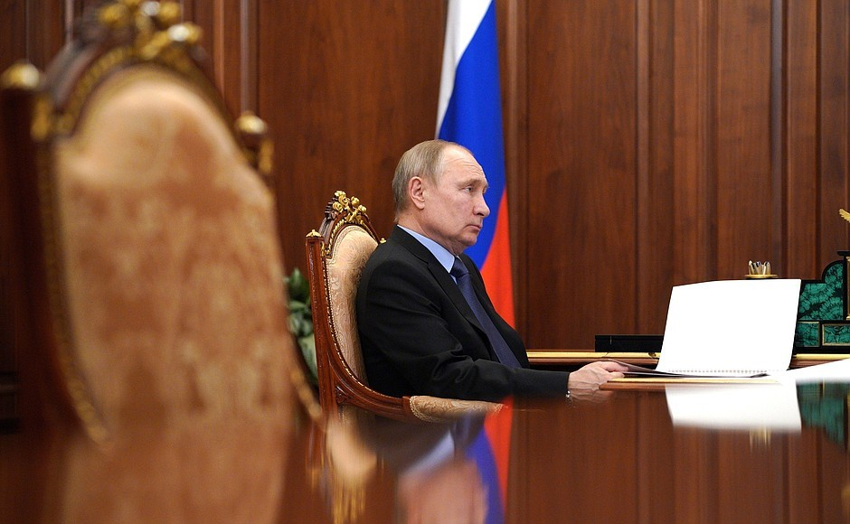Putin Signs Law Allowing Him To Stay In Power Until 2036