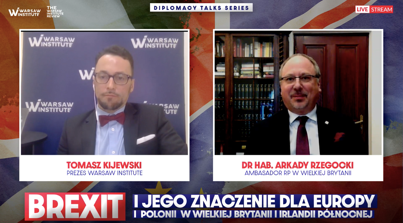BREXIT, Polish-British cooperation and Polish diaspora in Great Britain – interview with the Polish Ambassador to Great Britain and Northern Ireland