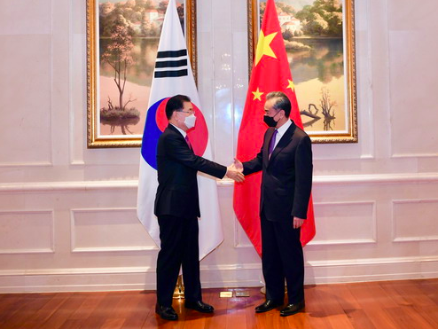 South Korean Foreign Minister Visits China