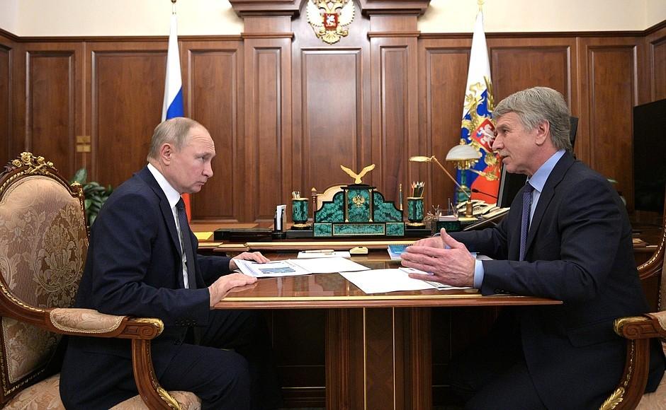 Novatek faworytem Putina
