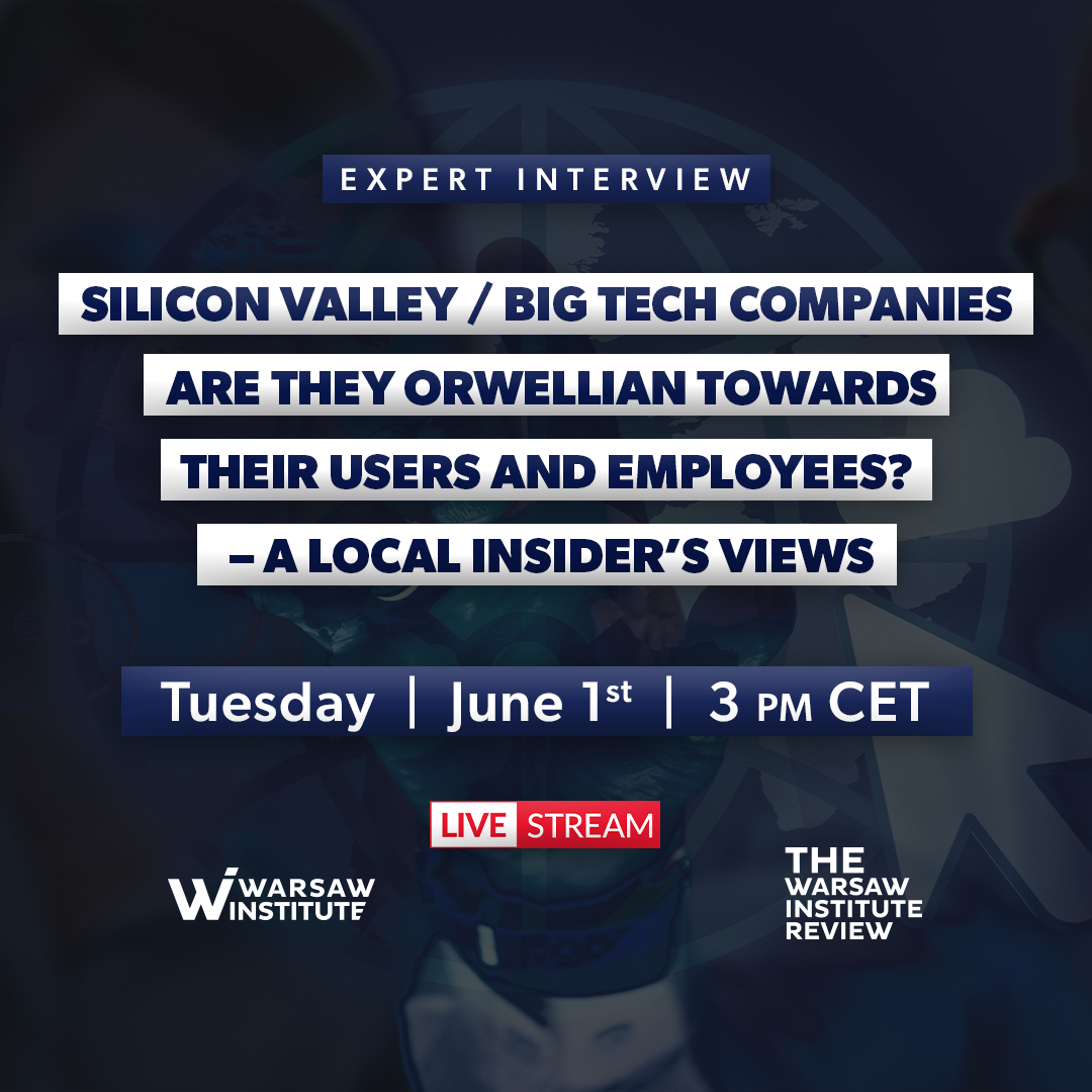 Silicon Valley / Big Tech Companies  Are they Orwellian towards their Users and Employees?  – a local insider's views