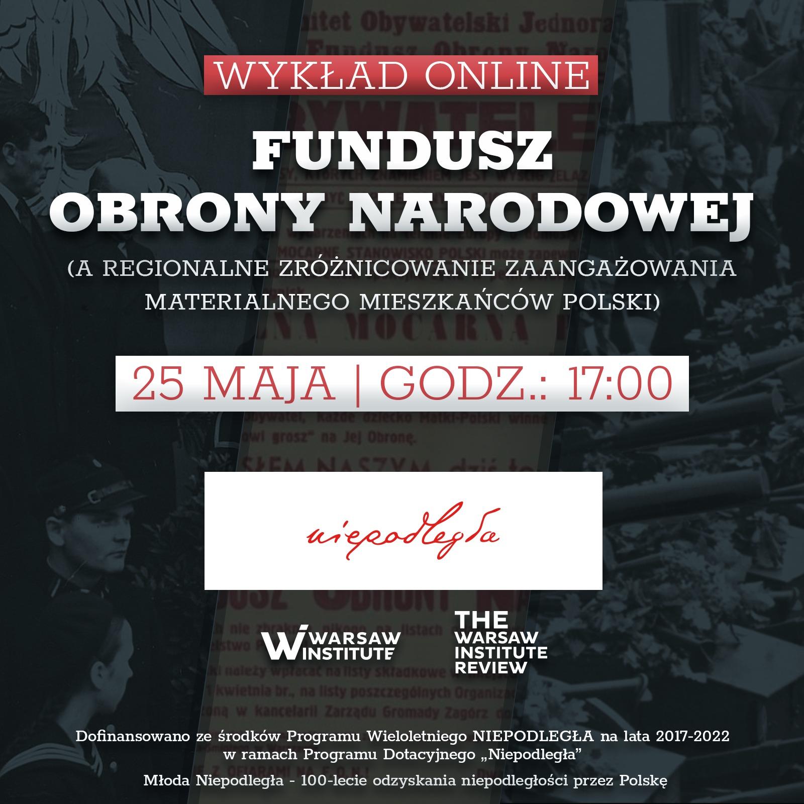 Fundusz Obrony Narodowej, a regionalne zróżnicowanie zaangażowania materialnego mieszkańców Polski.