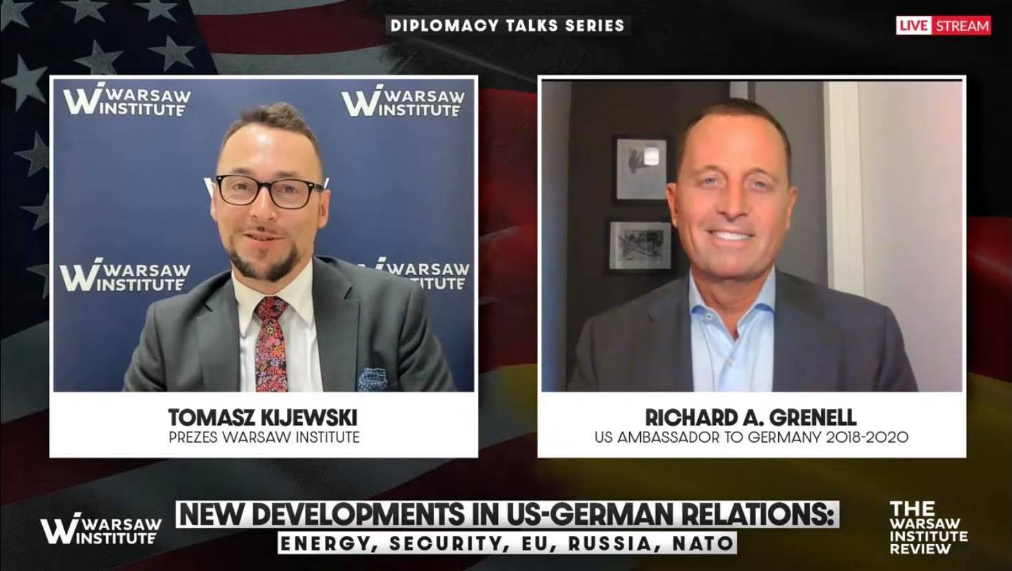 Event Summary: US-German relations – their past, present, and future: energy, security, EU, Russia, NATO | Diplomacy Talks Series