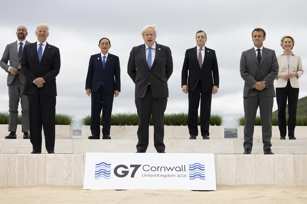 Chiny o spotkaniu G7 w Kornwalii