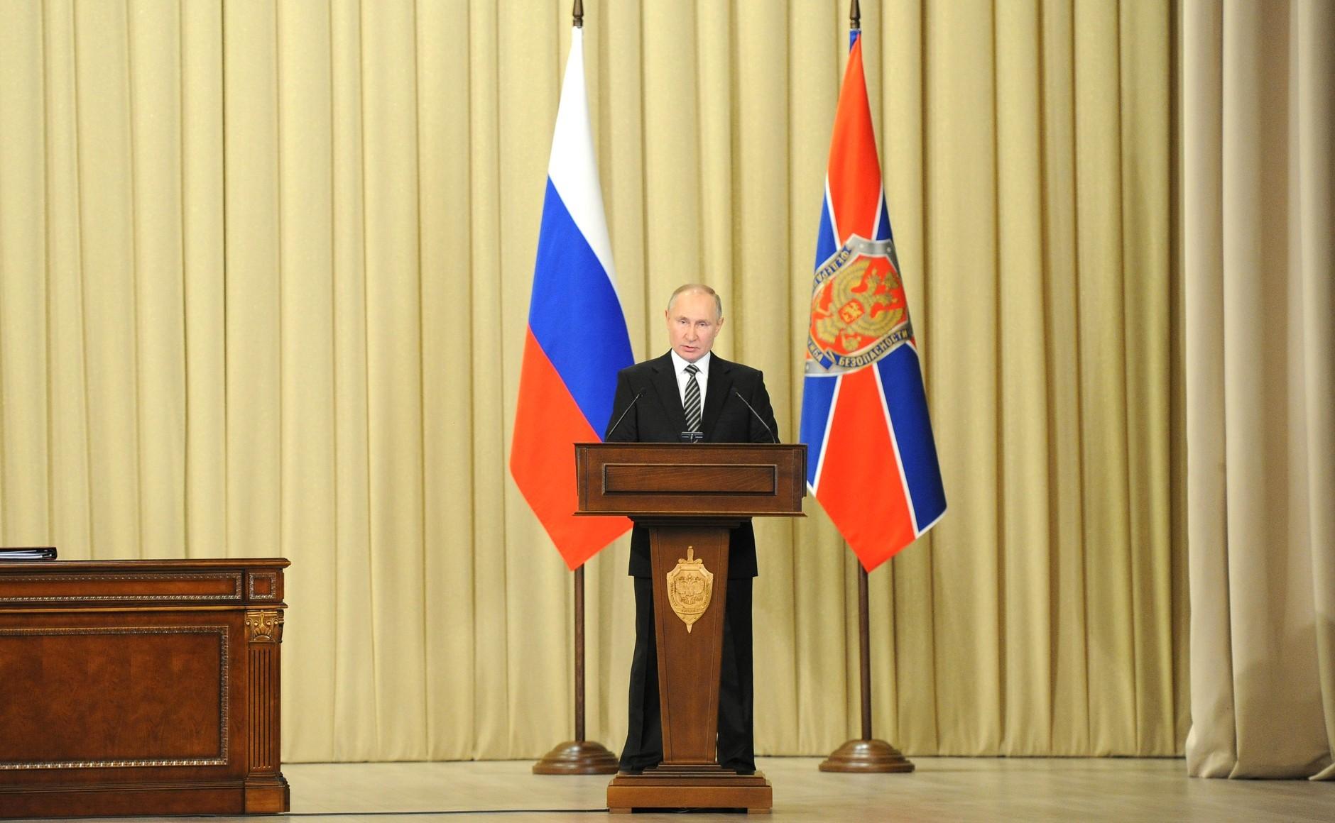 Oto przyszły szef FSB? Dostał awans od Putina