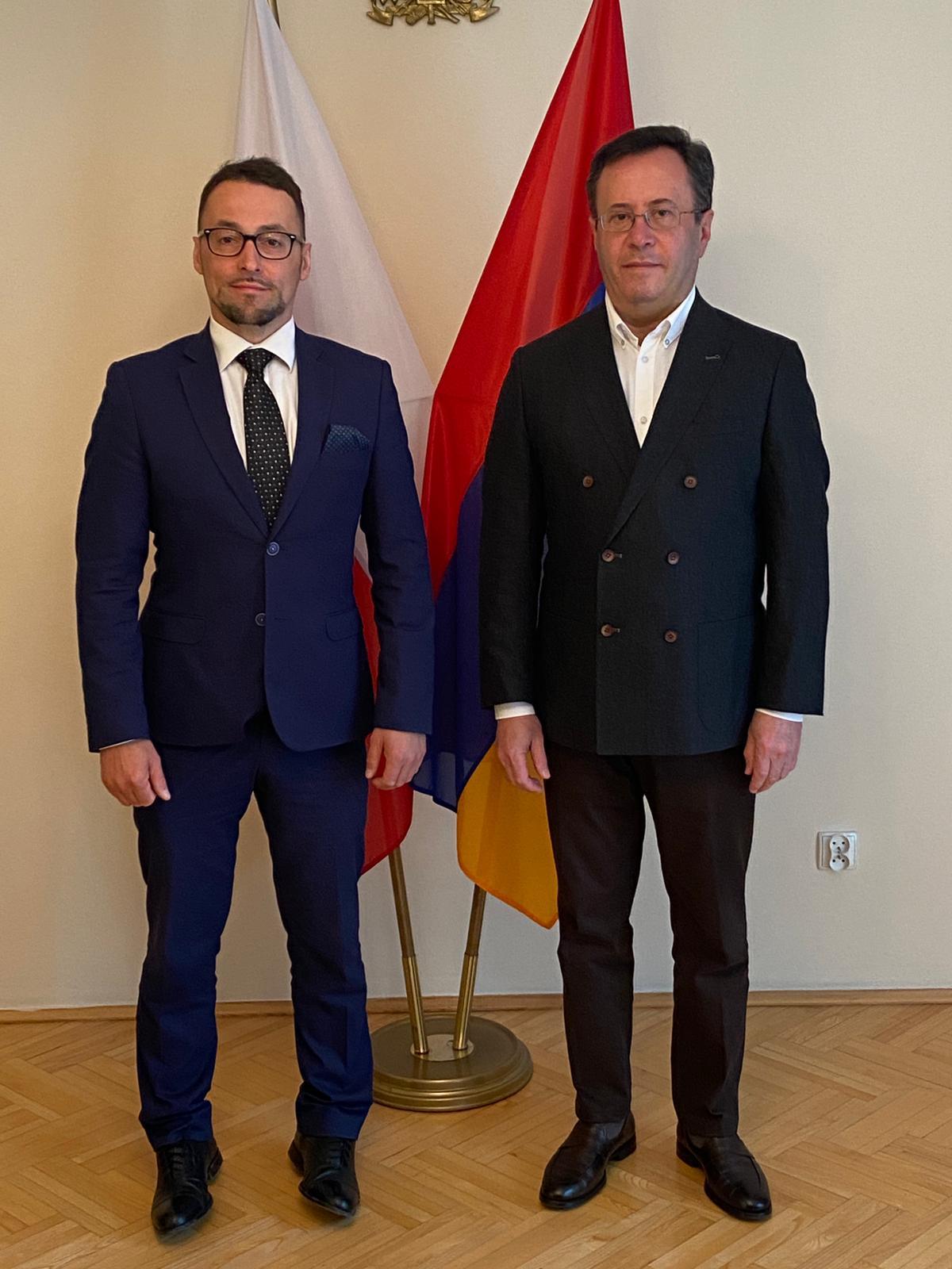 Polska i Armenia – perspektywy współpracy | Diplomacy Talks Series