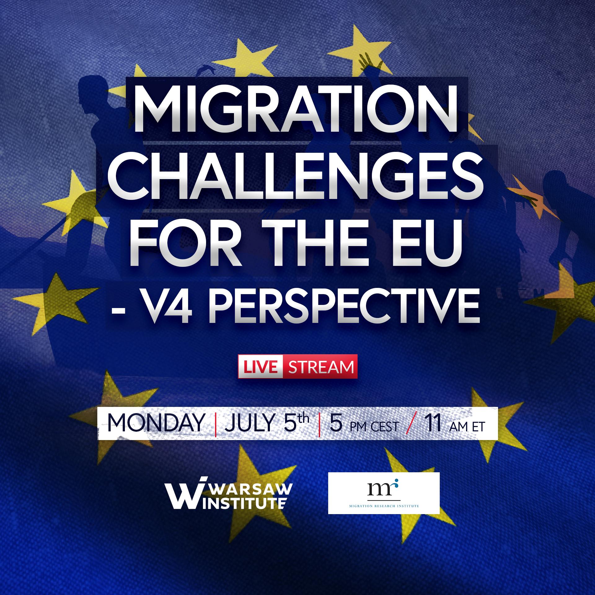 Migration Challenges for the EU – V4 Perspective