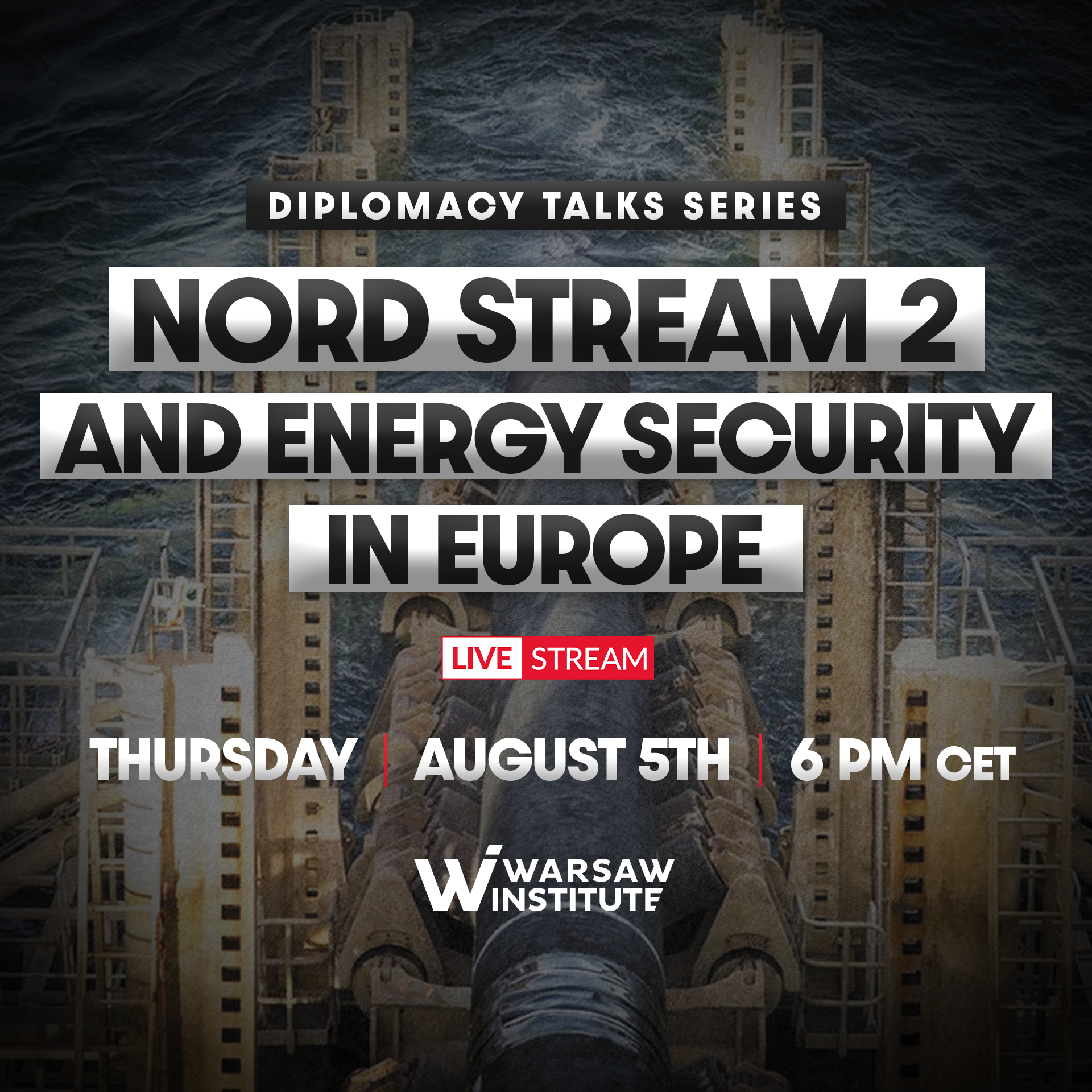 Nord Stream 2 and energy security in Europe   Diplomacy Talks Series