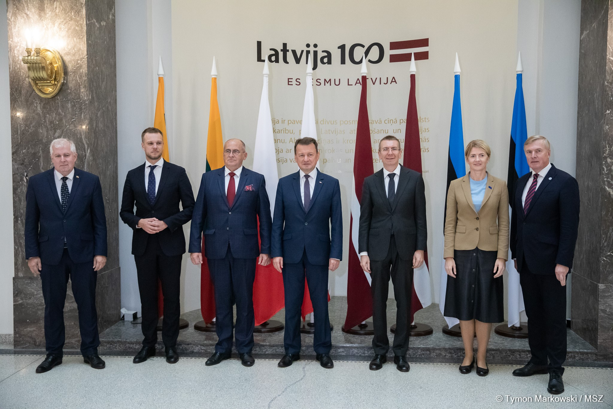 Russia Is Common Threat to Poland and Baltic States