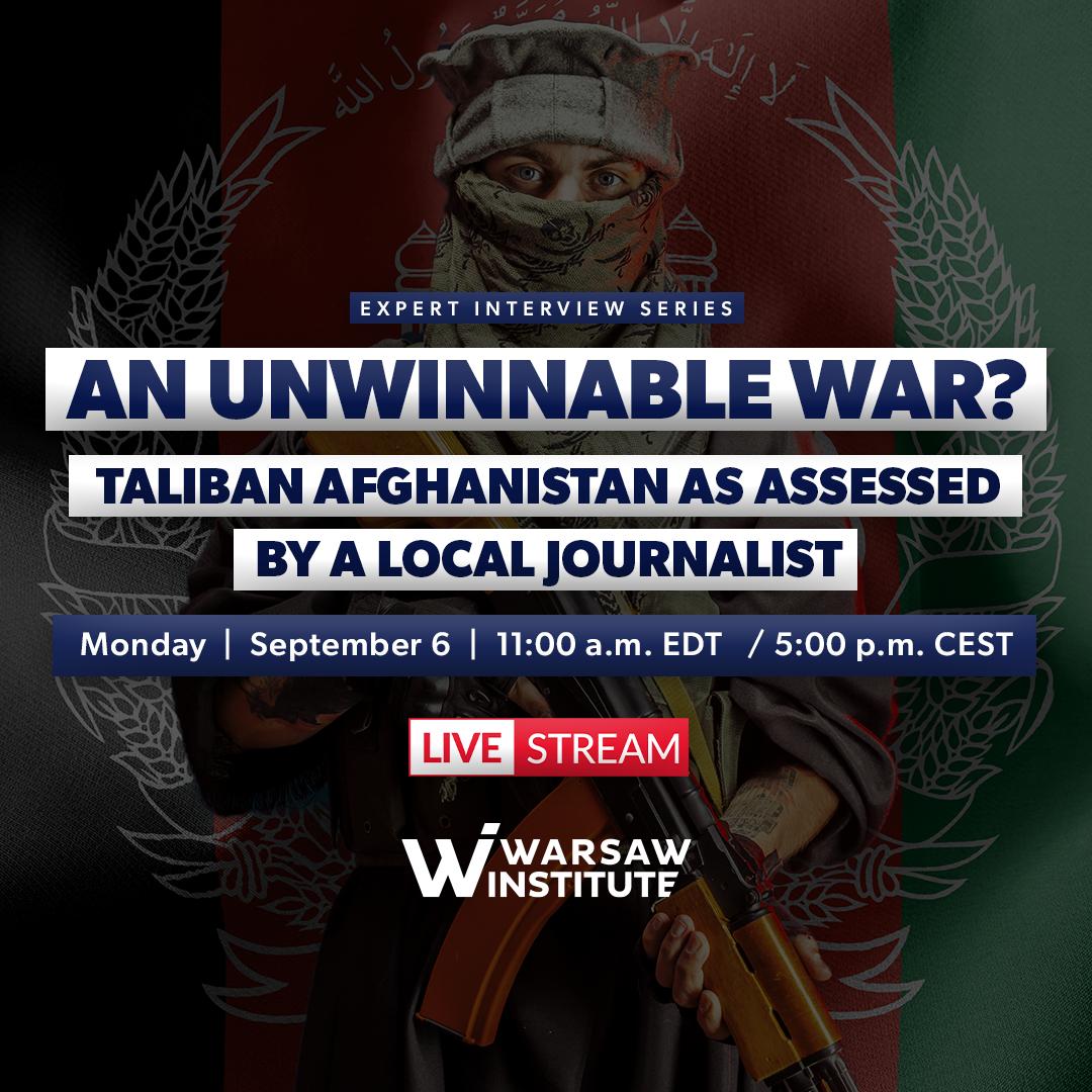 An unwinnable war. Taliban Afghanistan as assessed by a local journalist.