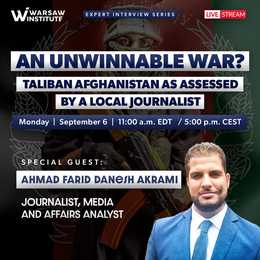 Event Summary: An unwinnable war? Taliban Afghanistan as assessed by a local journalist