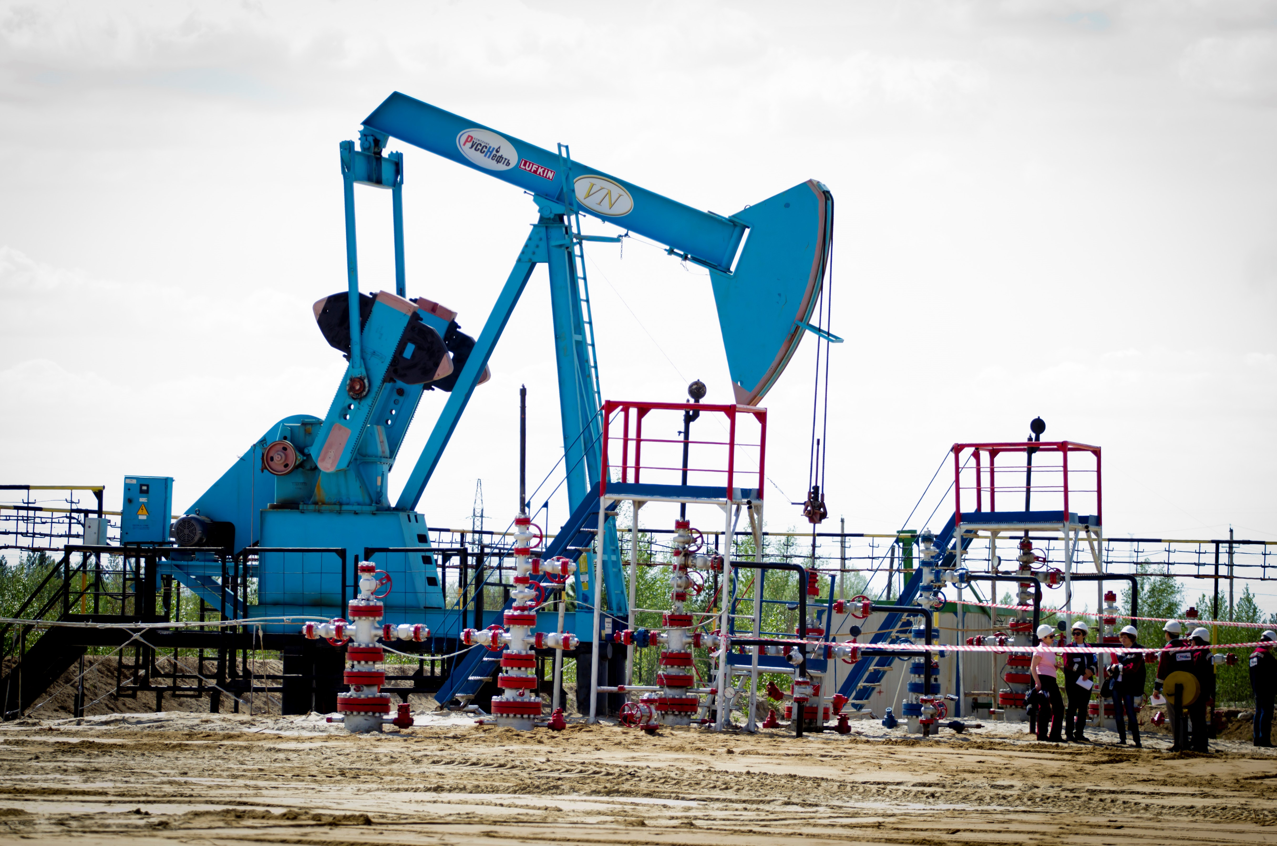 Rośnie wydobycie ropy naftowej w Rosji