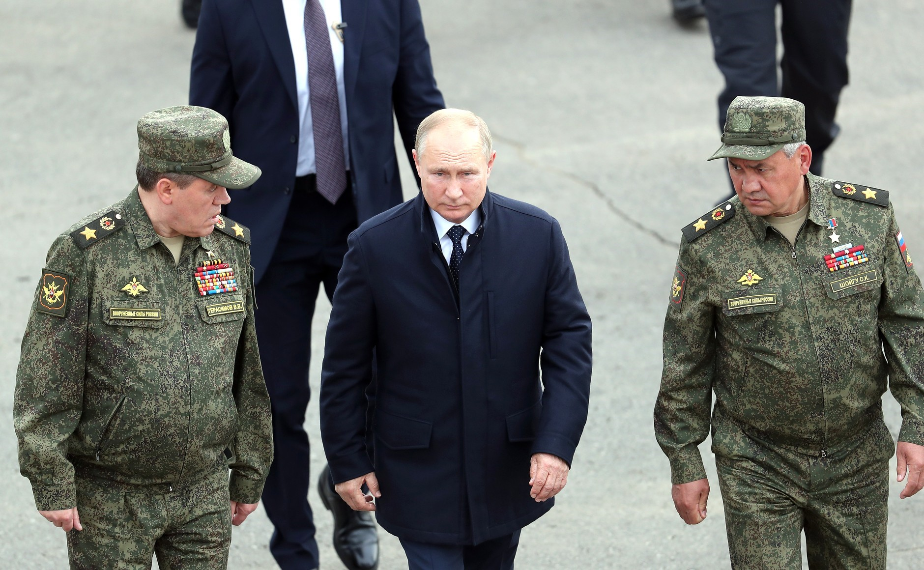 Russians Have More Trust In Army Than In Putin