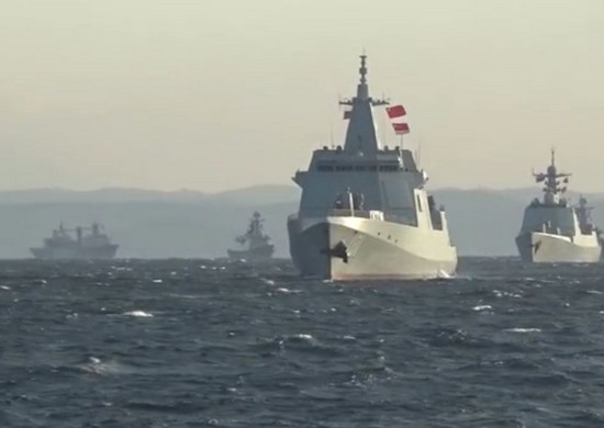 China, Russia Hold Joint Naval Maneuvers